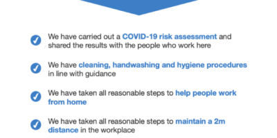 Completing a COVID-19 risk assessment for your business
