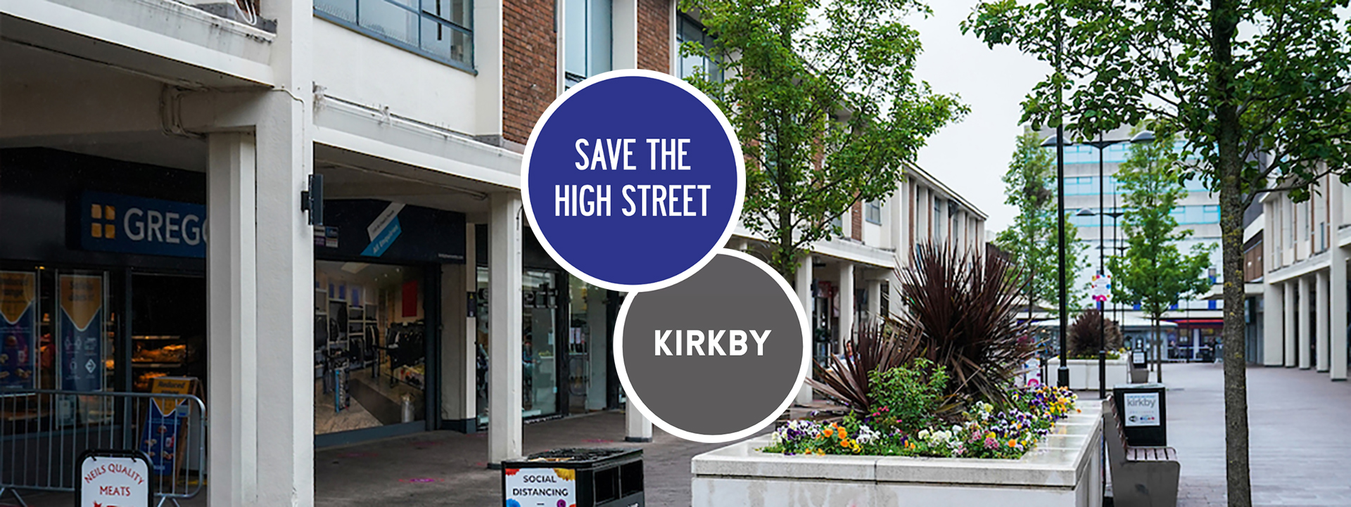 Saturday 4 July 2020. Town Centres Kirkby and Prescot